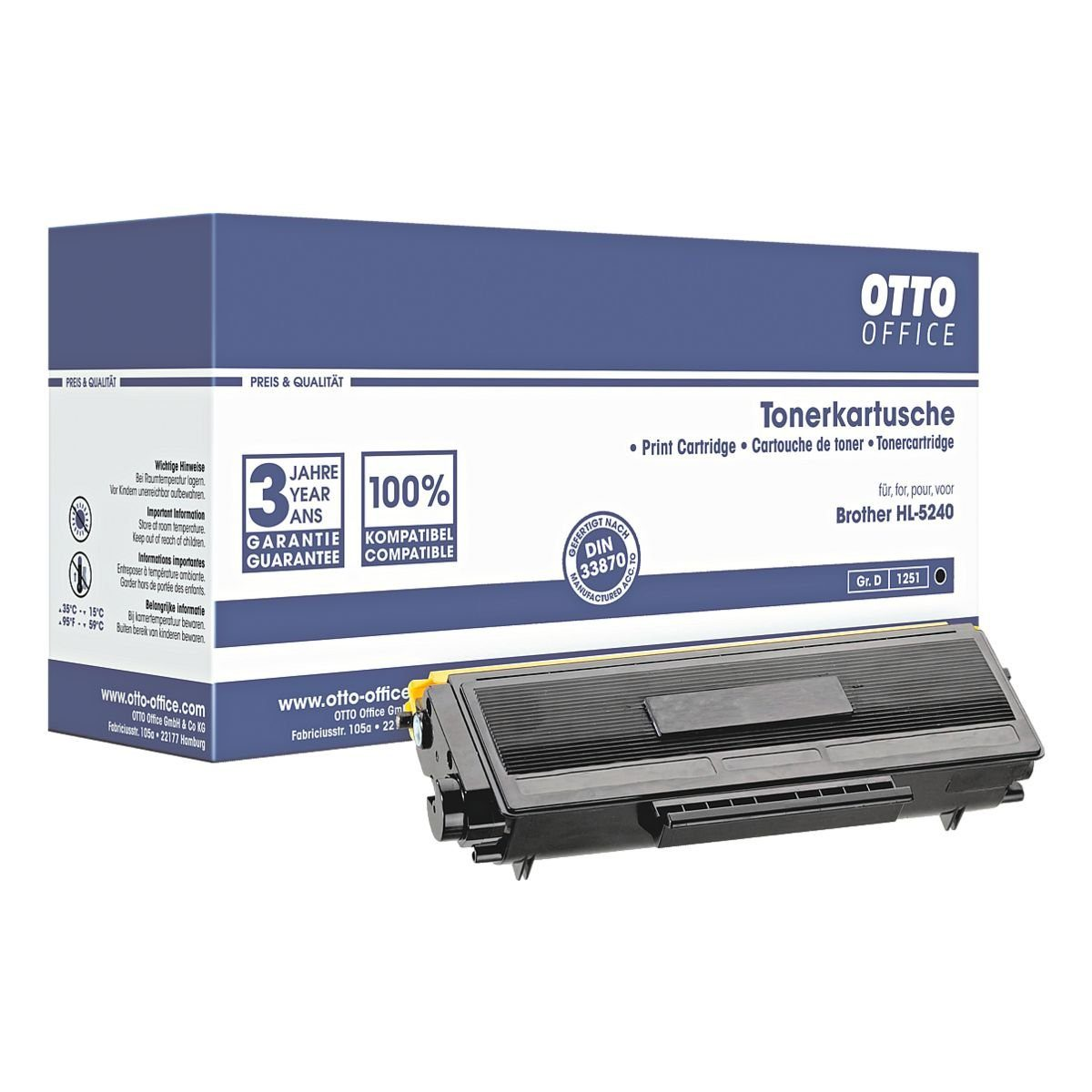 OTTO Office Standard Toner ersetzt Brother »TN-3130«