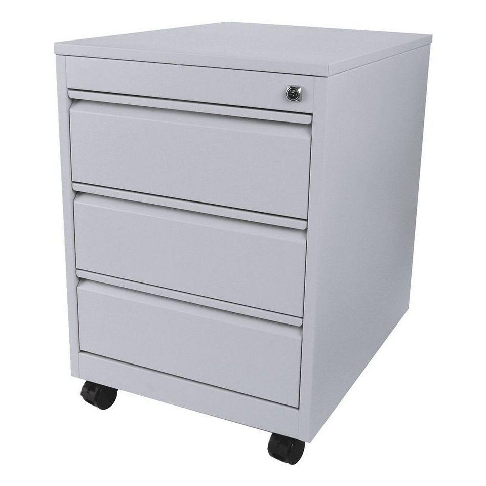 rollcontainer mit 3 klassischen schubladen profi otto. Black Bedroom Furniture Sets. Home Design Ideas