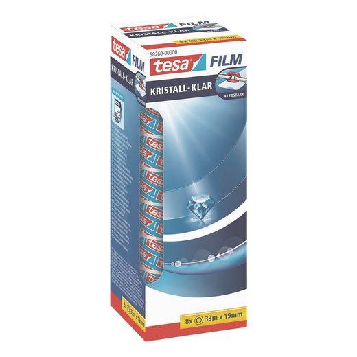 Tesa Klebefilm transparent 58247, 19 mm/33 m (B/L) »kristall-klar«