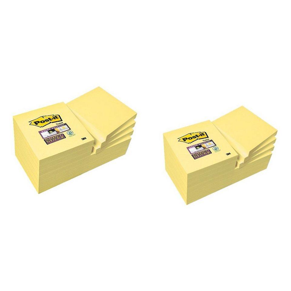 Post-it Super Sticky 24er-Pack Haftnotizblöcke »Notes«