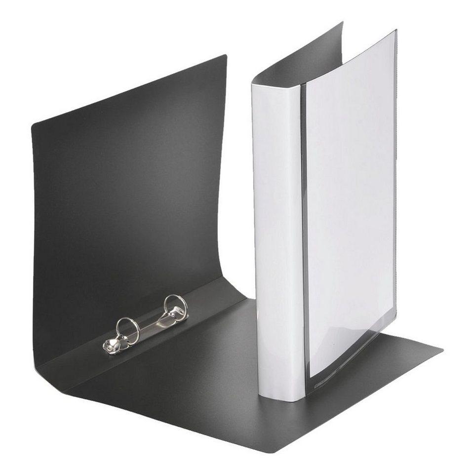 Foldersys Präsentationsringbuch in schwarz
