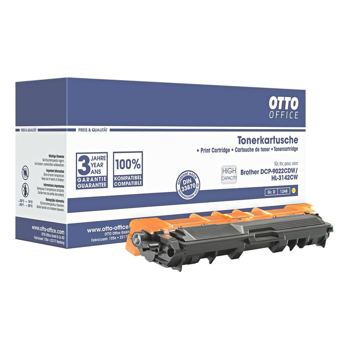 OTTO Office Standard Toner ersetzt Brother »TN-246Y«