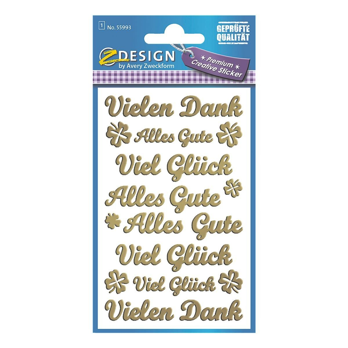 Z-Design Sticker »Schriftzüge-Mix«