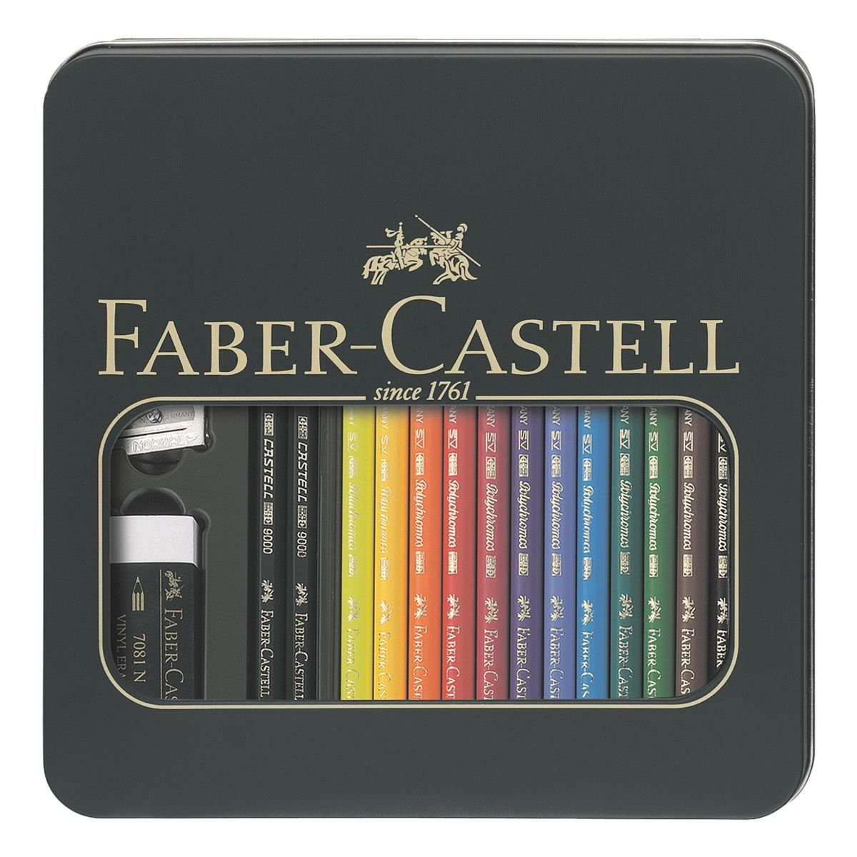 Faber Castell Künstlerfarbstifte »Polychromos Castell 9000«