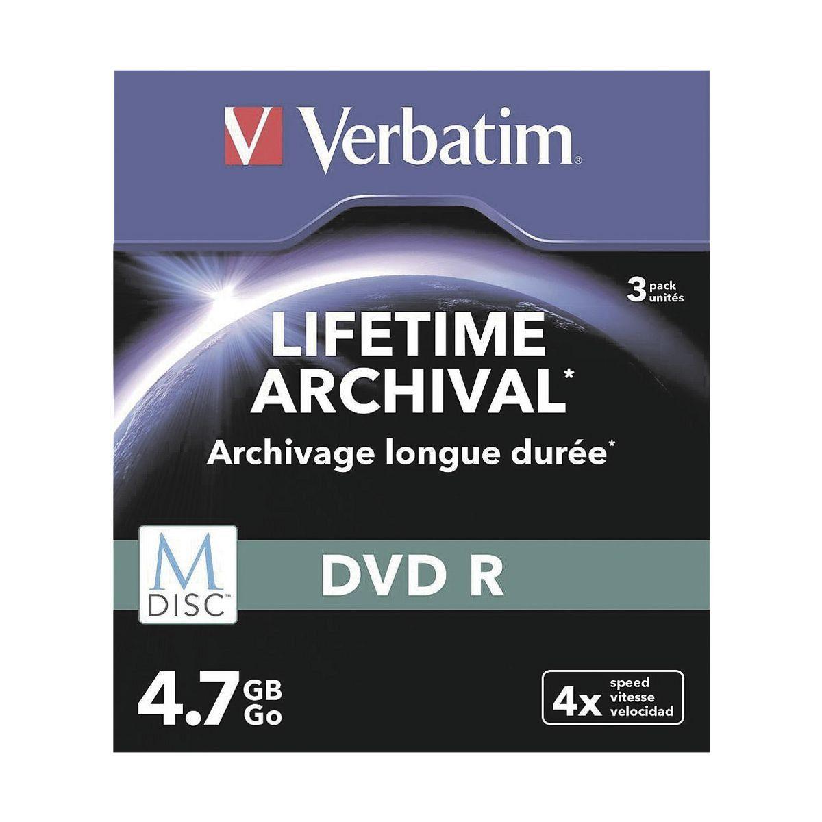 Verbatim DVD-Rohlinge »Printable DVD-R M-Disc«
