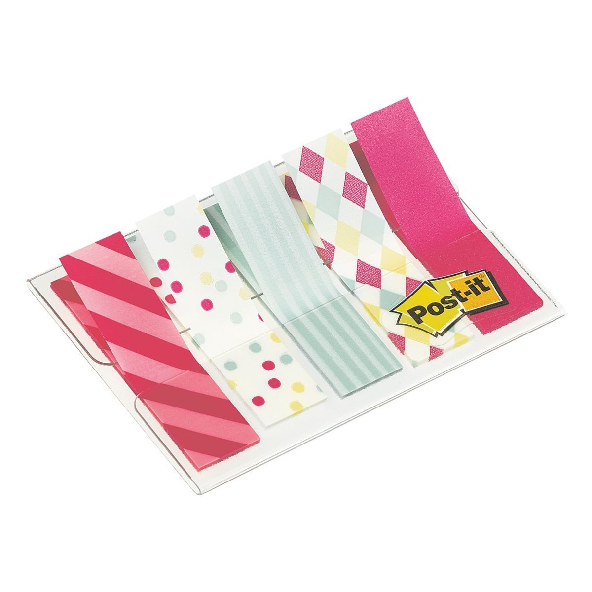 Post-it Index Haftstreifen 43,2 x 11,9 mm »Candy Collection«
