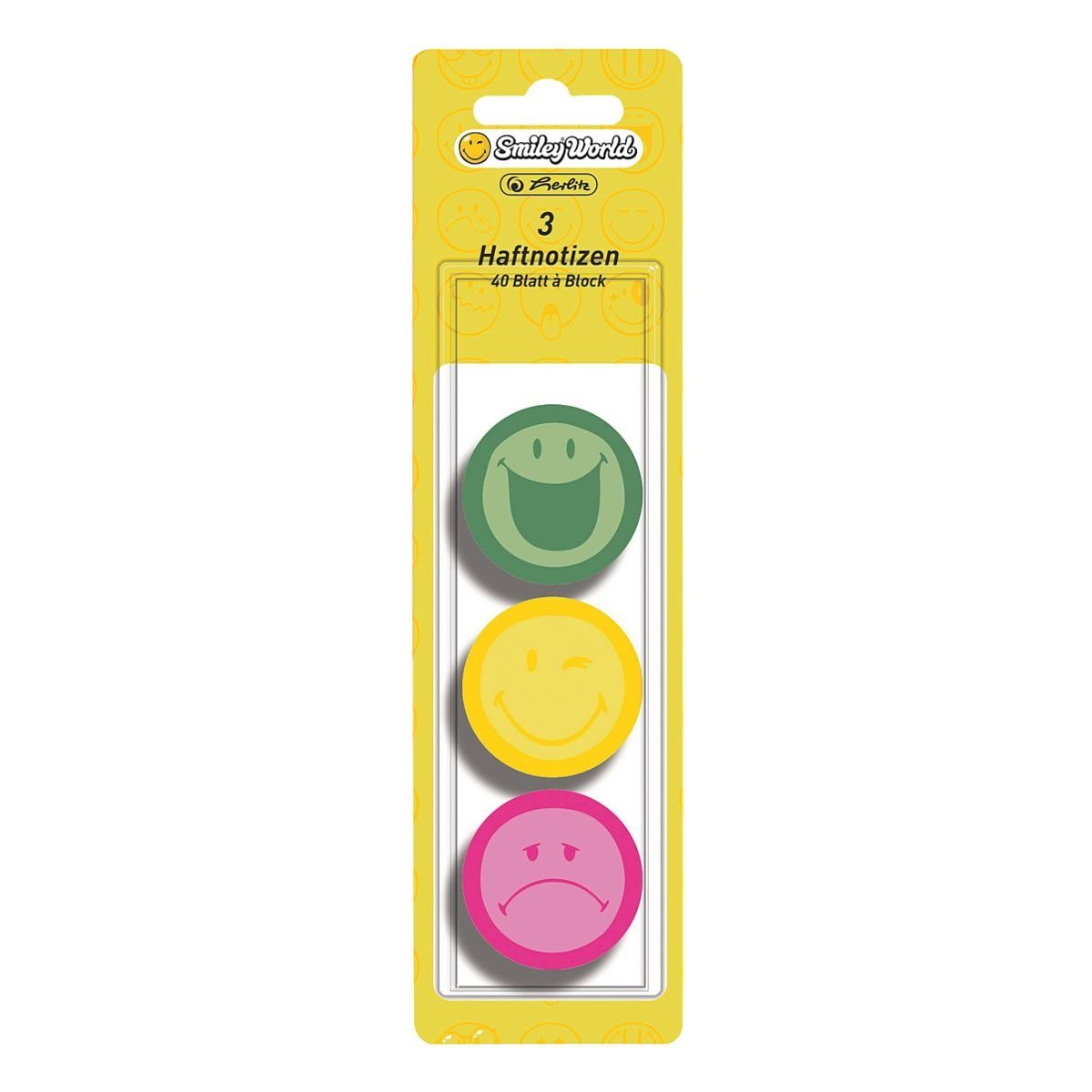 Herlitz Haftotizen »Smiley World«