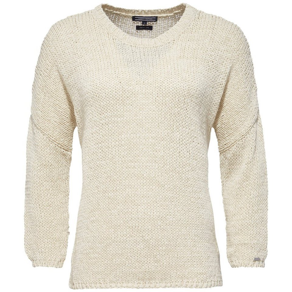 Tommy Hilfiger Pullover »HORSARO SWTR« in WHITE