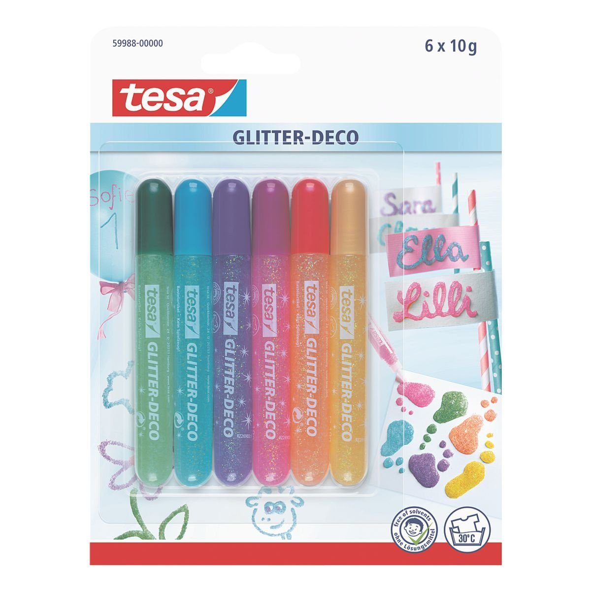 Tesa Glitter-Deco »Candy«