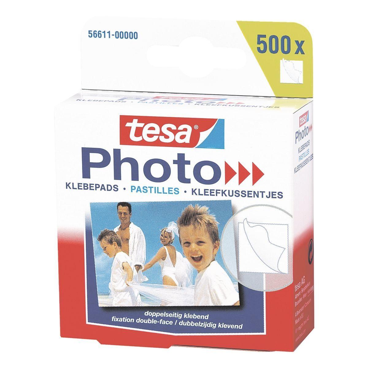 Tesa Doppelseitige Klebepads 56611 »Photo«