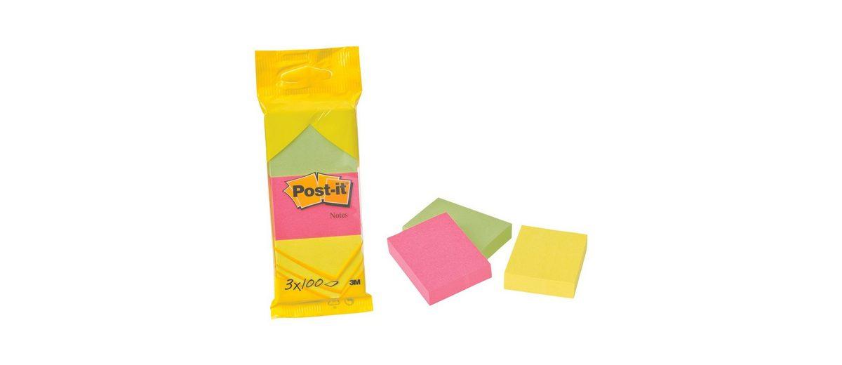 POSTITNOTES 3er-Pack Haftnotizblöcke »Notes 653«