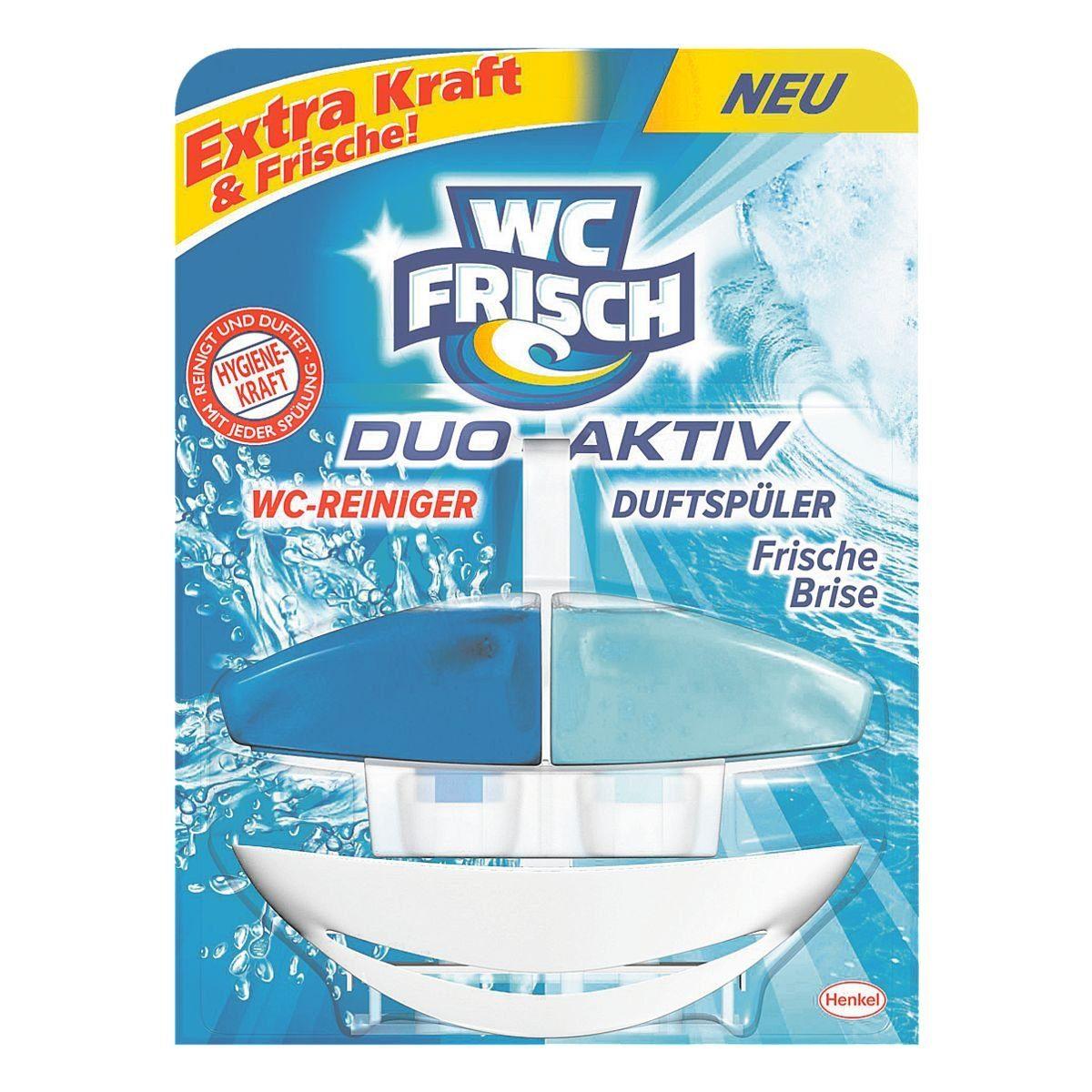 WCFRISCH WC-Reiniger »WC Frisch Duo-Aktiv Frische Brise«