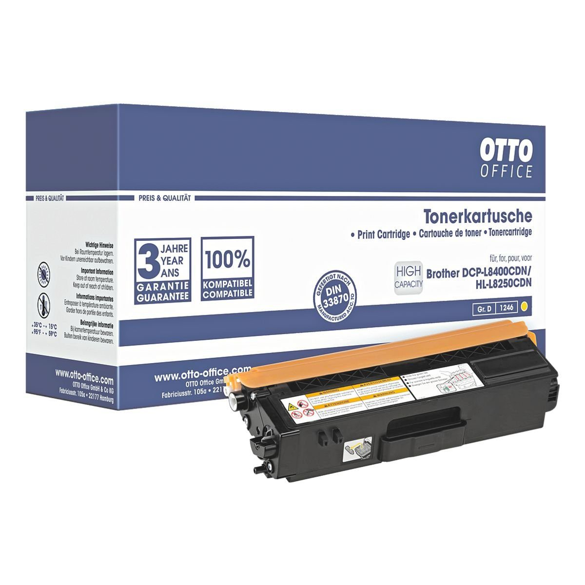 OTTO Office Toner ersetzt Brother »TN-326Y«
