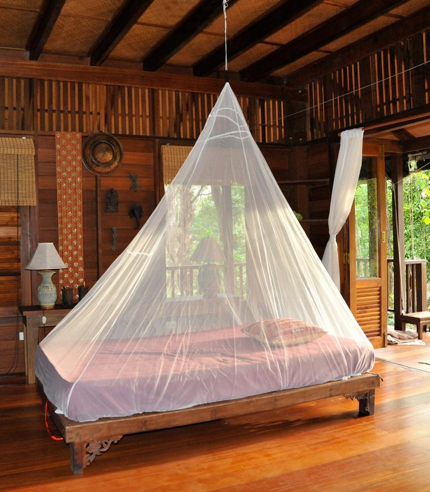 Cocoon Zelt »Insect Shield Mosquito Travel Net Single« in weiß