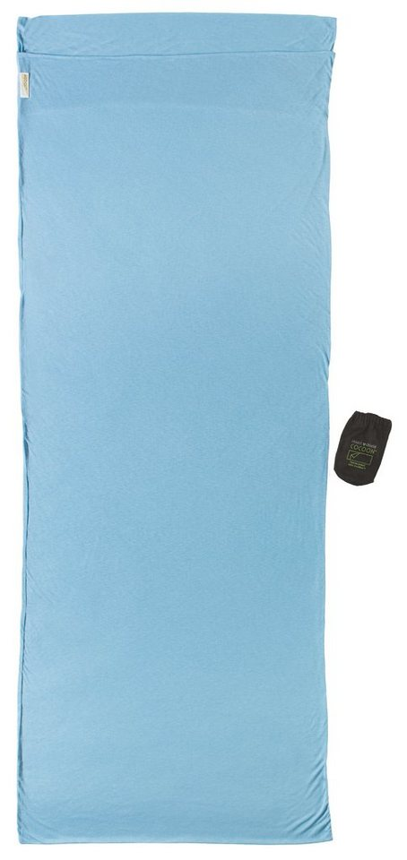 Cocoon Schlafsack »Insect Shield TravelSheet Inlet Coolmax« in blau