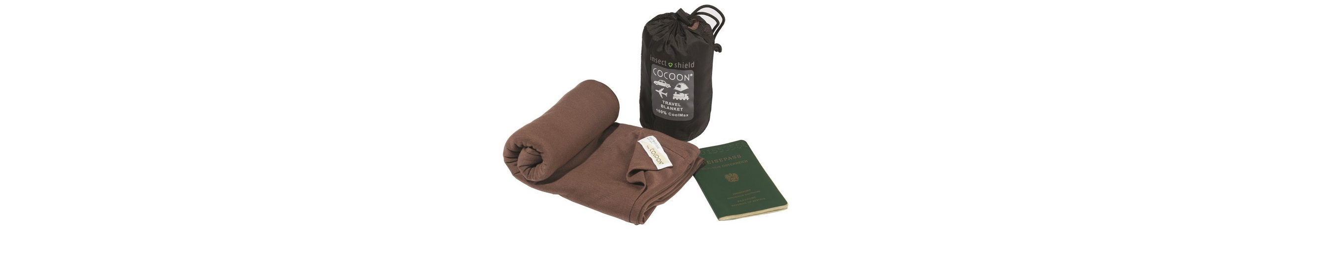 Cocoon Reisedecke »Insect Shield Travel Blanket CoolMax«
