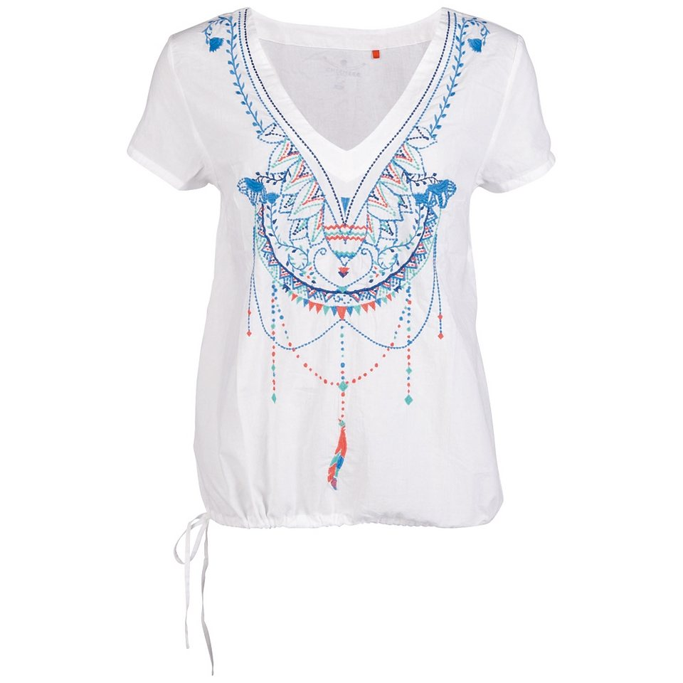 Chiemsee Bluse »LINDSAY« in clear white