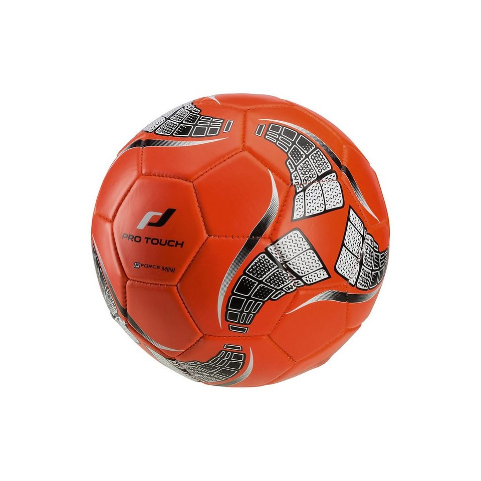 Pro Touch Fußball Force Mini, Gr. 1 in rot