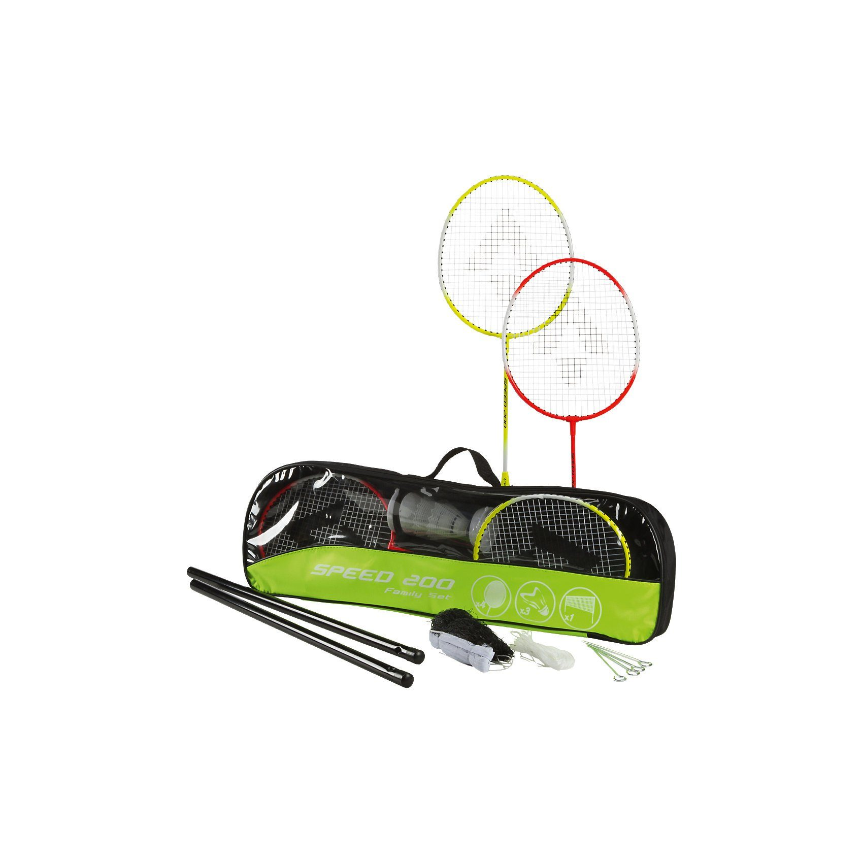 Tecnopro Beach-Badminton-Set Speed 200 Familie