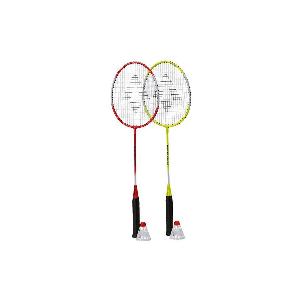 Tecnopro Beach-Badminton-Set Speed 200 in gelb/rot