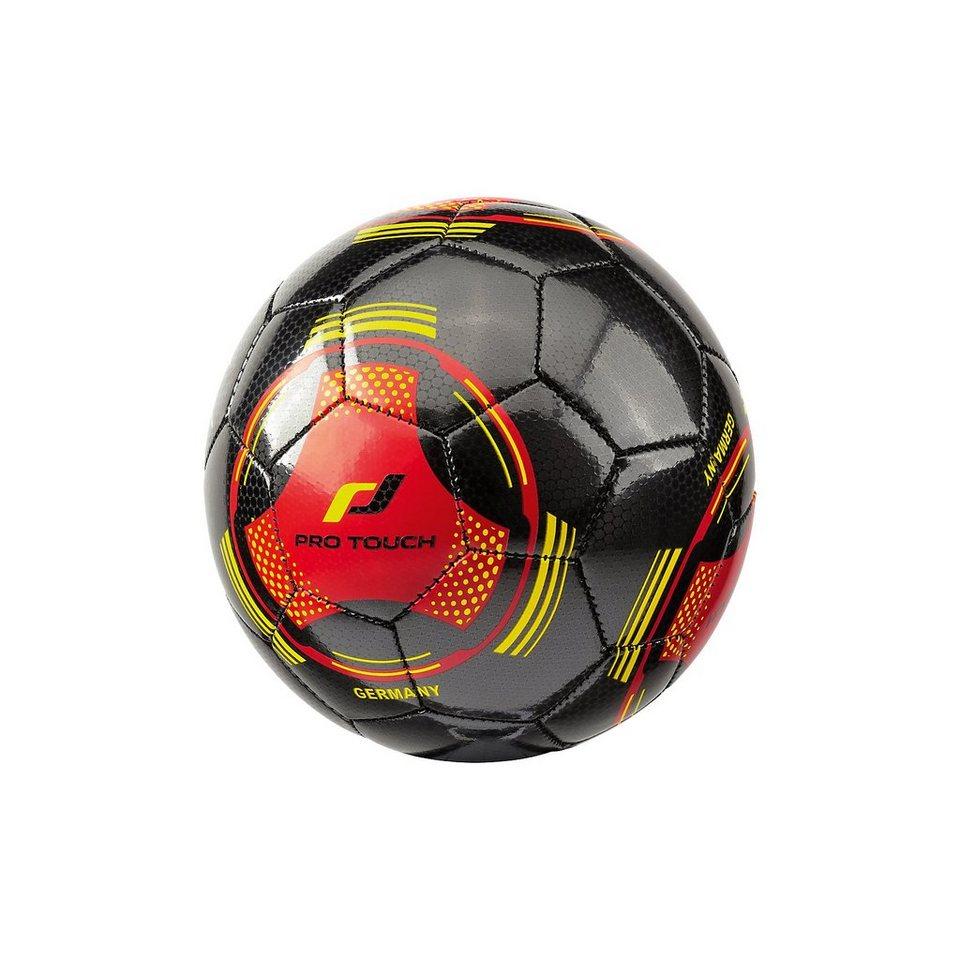 Pro Touch Fußball Länderball Deutschland, Gr. 1 in schwarz/rot/gold