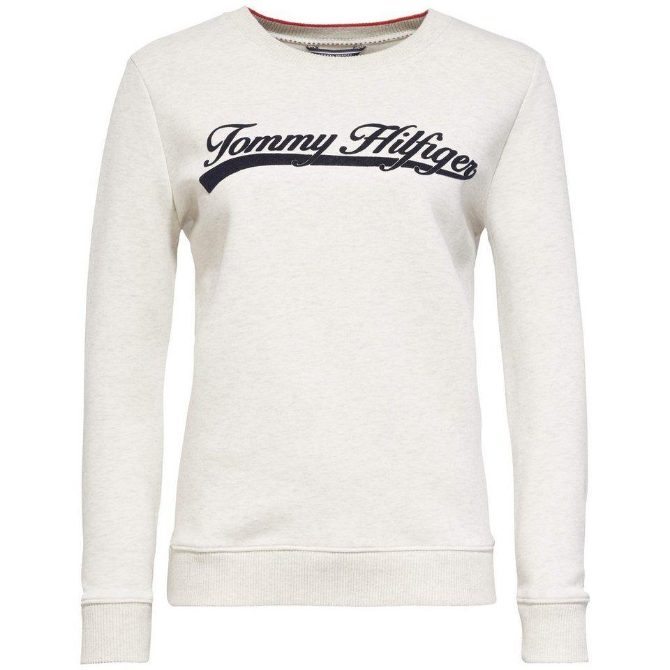 tommy hilfiger sweatshirts madelene c nk sweatshirt ls. Black Bedroom Furniture Sets. Home Design Ideas