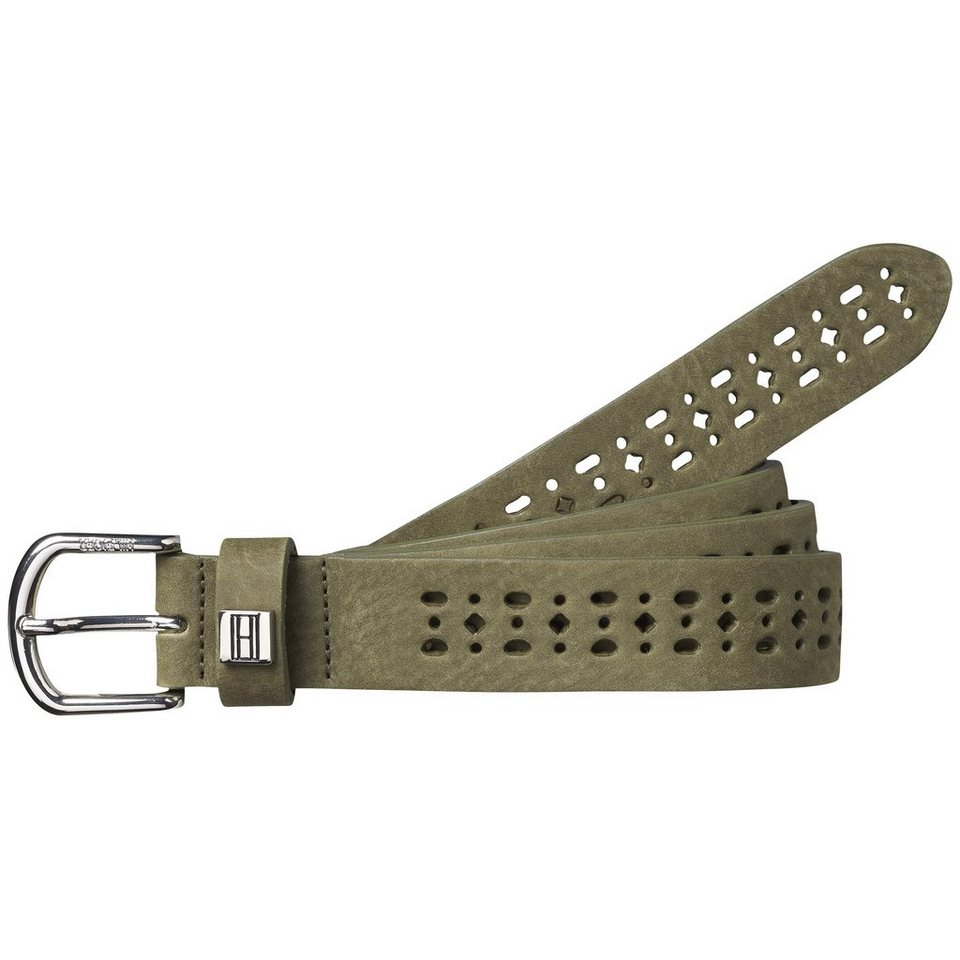 Tommy Hilfiger Gürtel »BREE DETAIL BELT« in NEW KHAKI