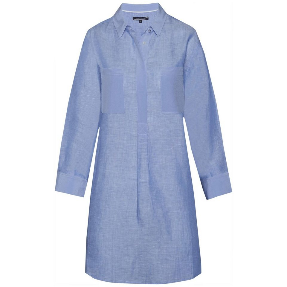 Tommy Hilfiger Blusen »NEVE TUNIC 3/4 SLV« in Chambray Blue