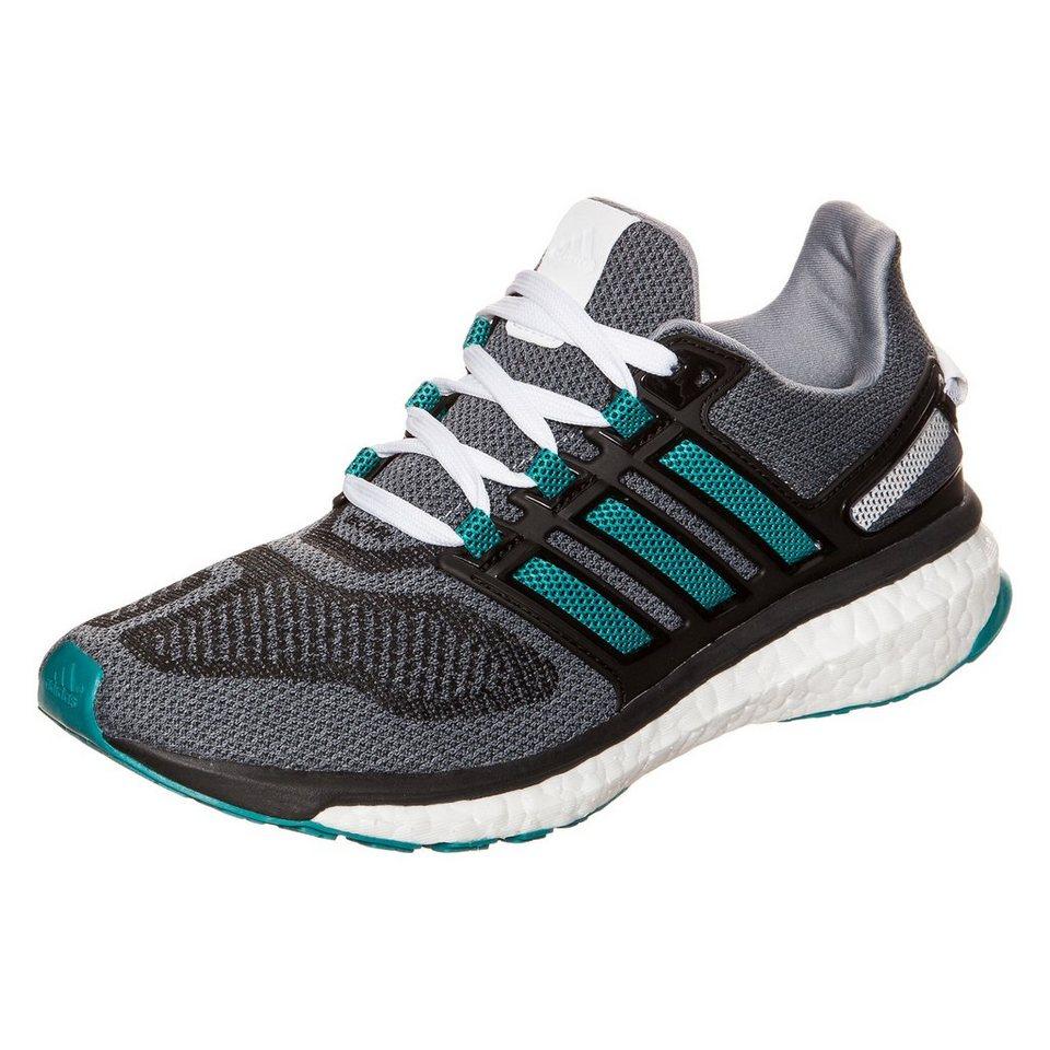 adidas Performance Energy Boost 3 Laufschuh Damen in grau / grün / schwar