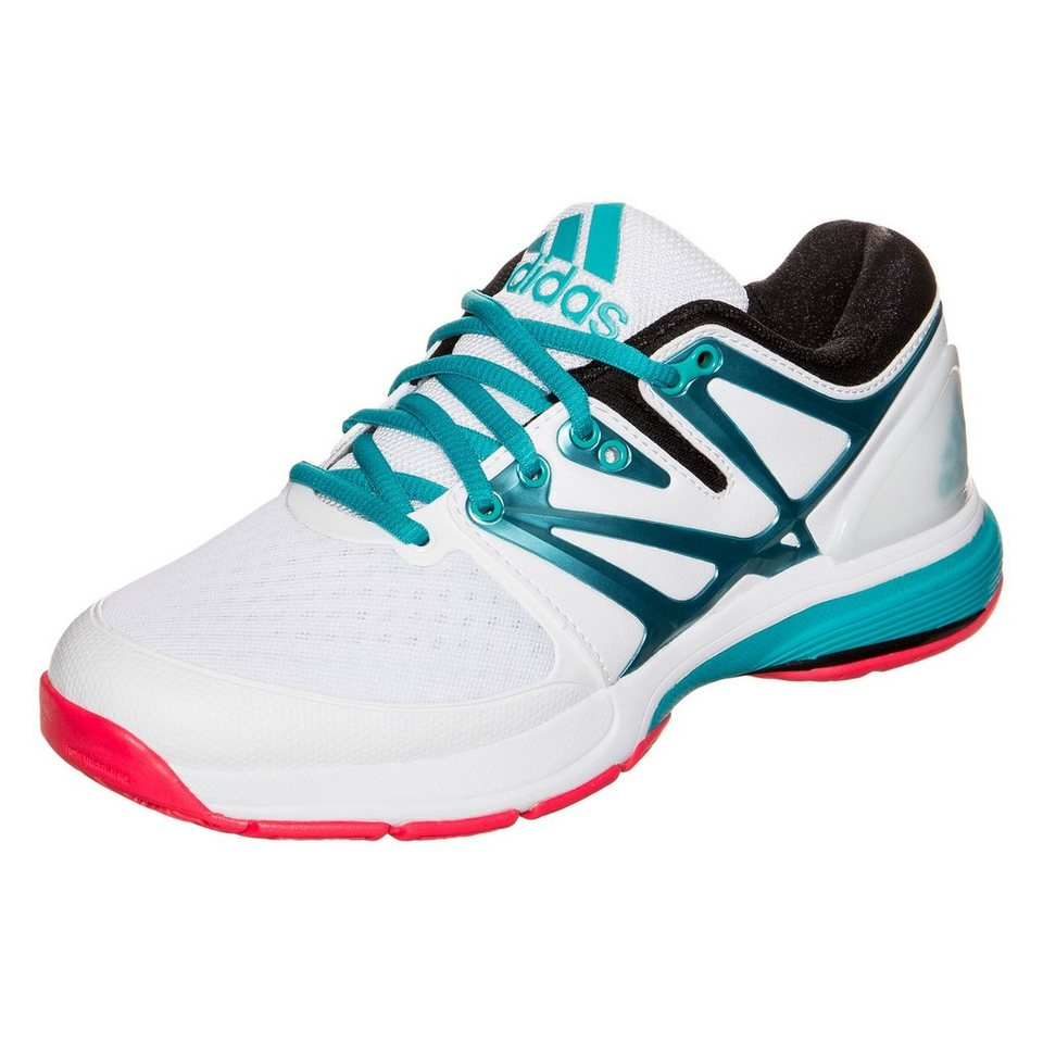 adidas Performance Stabil4ever Handballschuh Damen in weiß / grün / pink