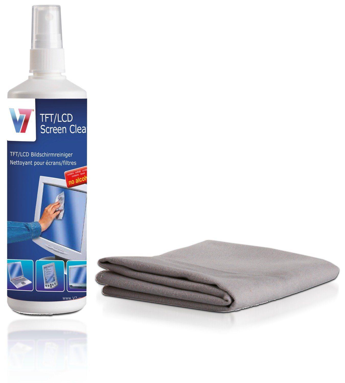 V7 Flüssigreiniger »Bildschirmreiniger und Tuch«