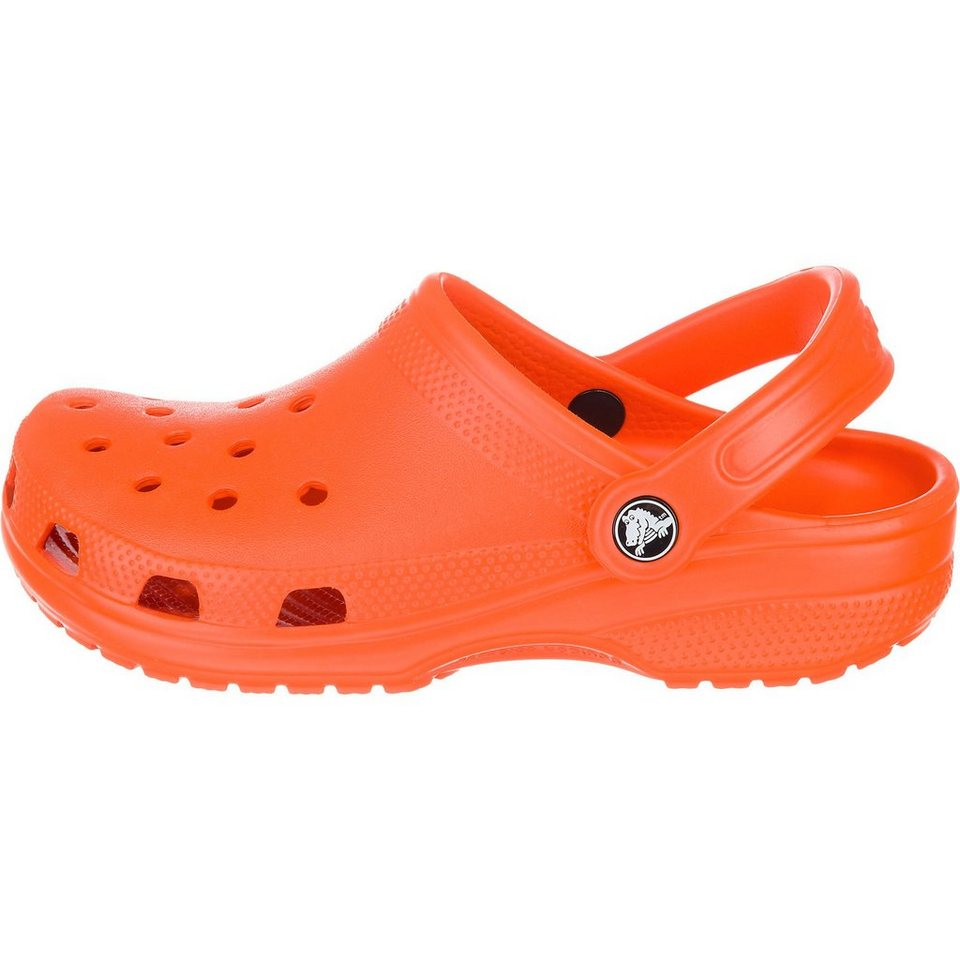 CROCS Classic Pantoletten in orange