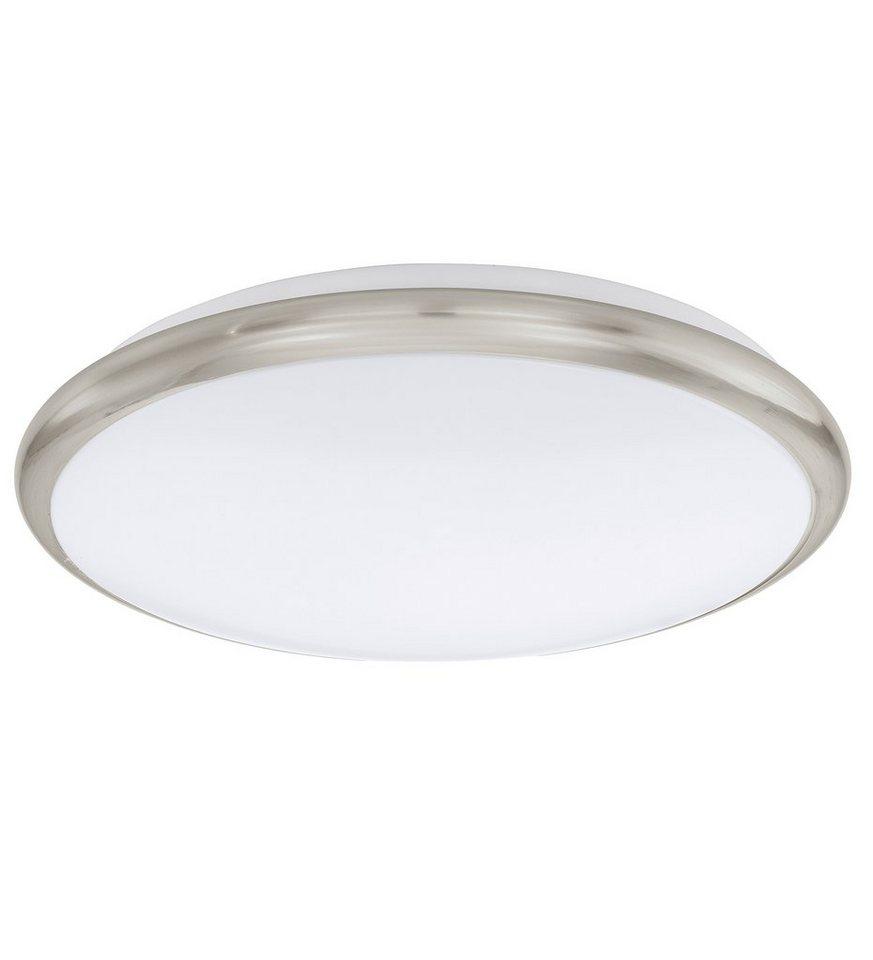 Eglo LED-Deckenleuchte, 1flg., »MANILVA« in Stahl, nickel-mattfarben