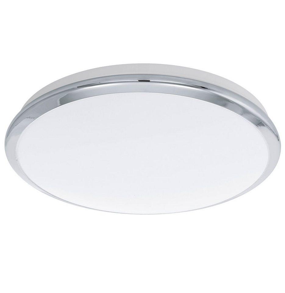 Eglo LED-Deckenleuchte, 1flg., »MANILVA« in Stahl, chromfarben
