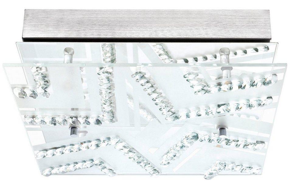 Eglo LED-Deckenleuchte, 4flg., »VERDESCA« in Metall, chromfarben