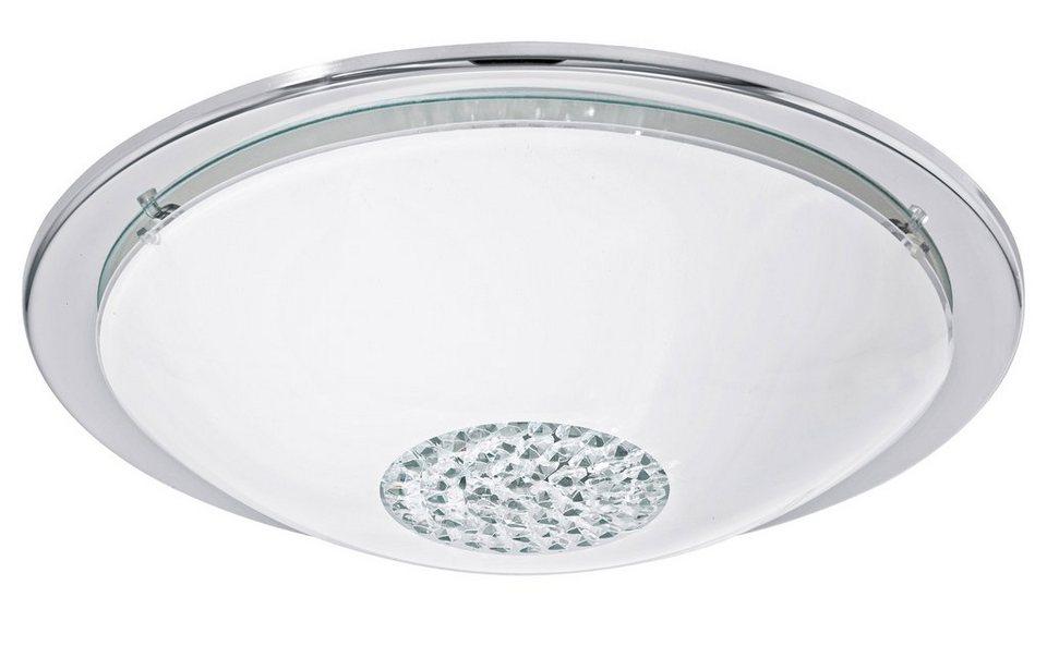 Eglo LED-Deckenleuchte, 1flg., »GIOLINA« in Stahl, chromfarben