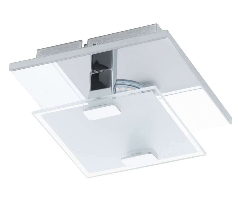 Eglo LED-Wandleuchte / LED-Deckenleuchte, 1flg., »VICARO« in Edelstahl, chromfarben