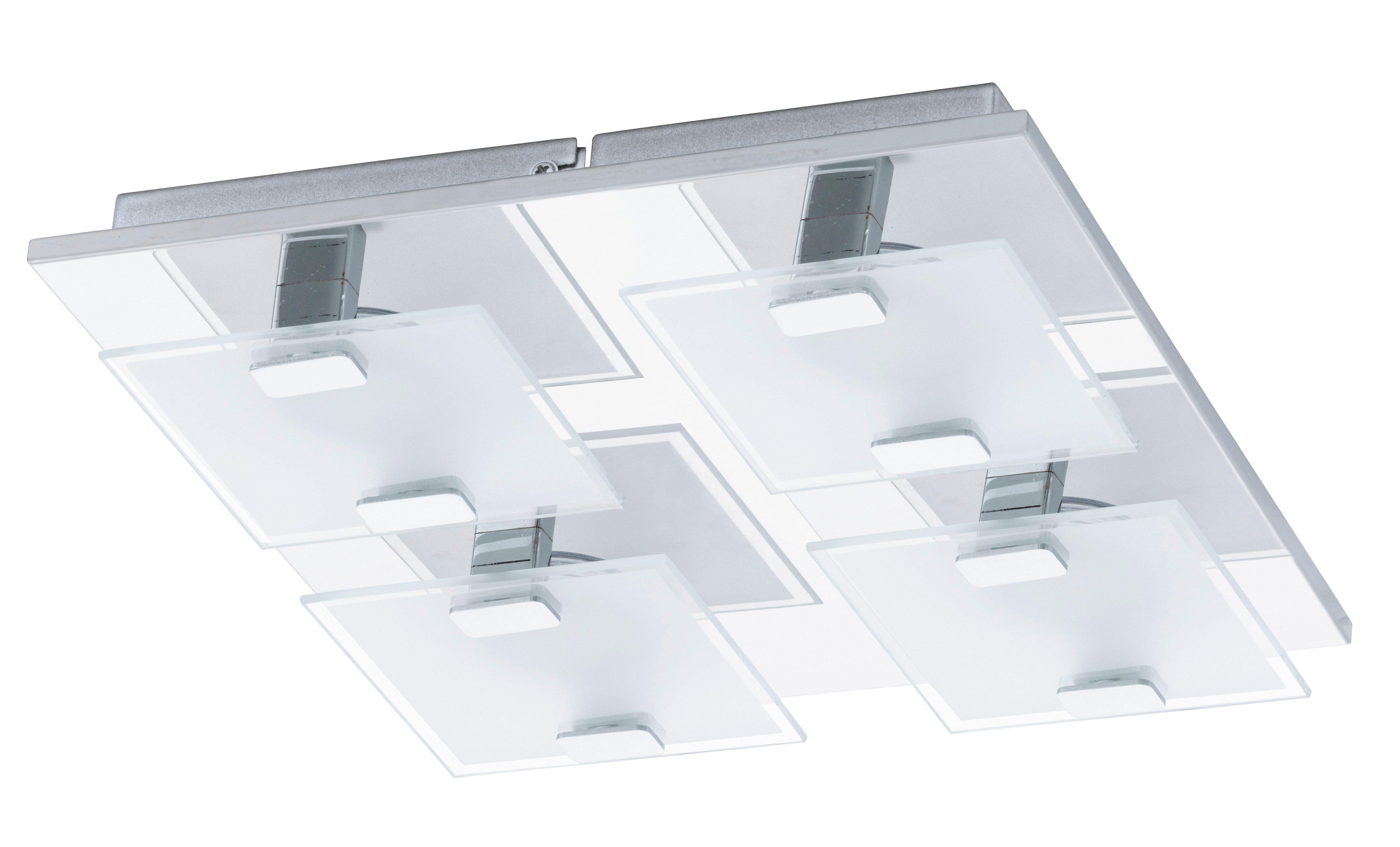 Eglo LED-Deckenleuchte, 4flg., »VICARO«