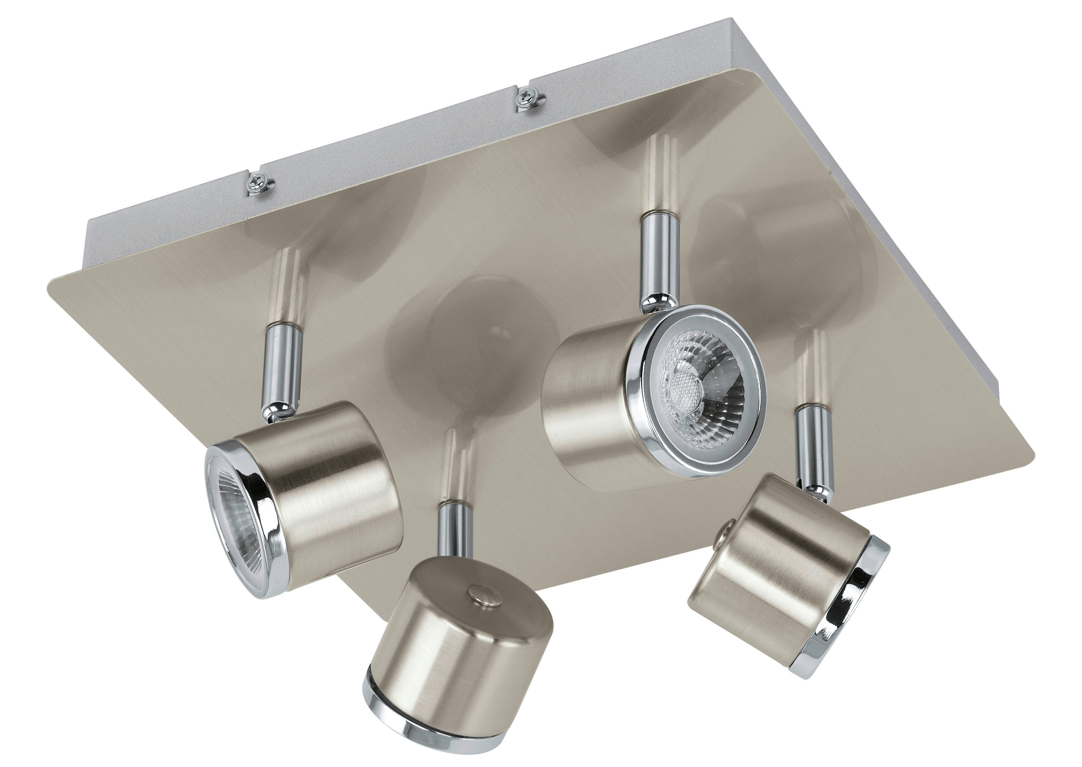 Eglo LED-Deckenleuchte, 4flg., »PIERINO«