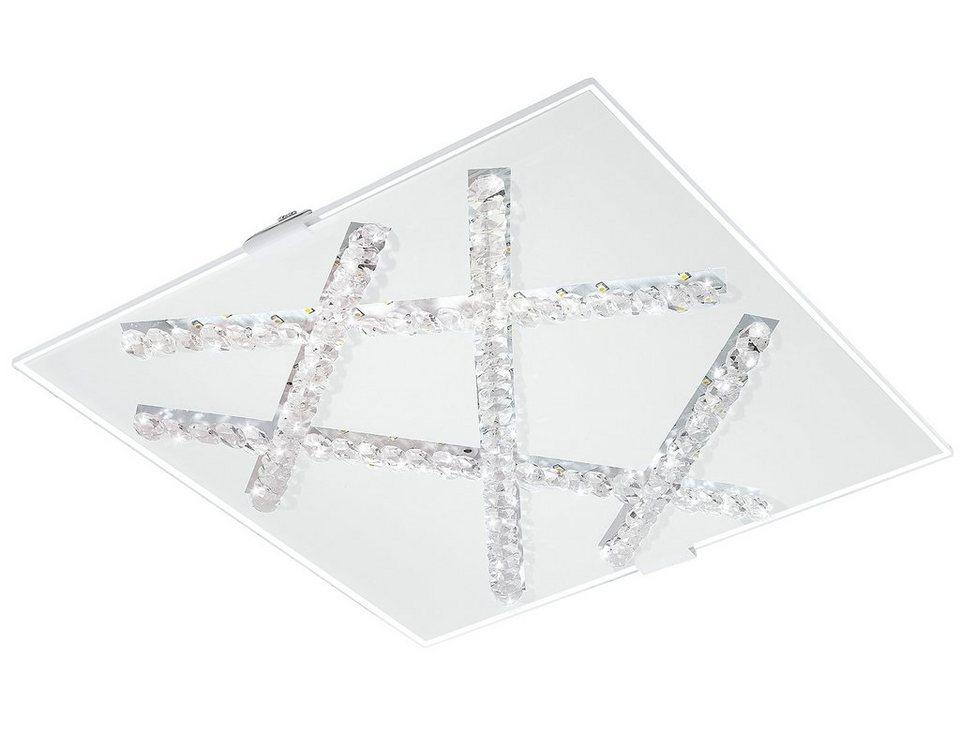 Eglo LED-Deckenleuchte, 1flg., »SORRENTA« in Metall, chromfarben