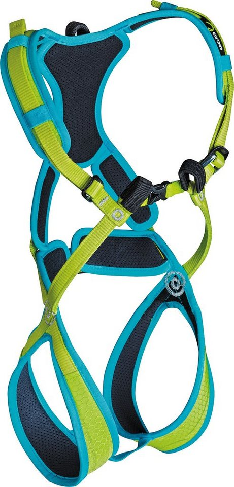 Edelrid Klettergurt »Fraggle II Harness Kids XXS« in grün