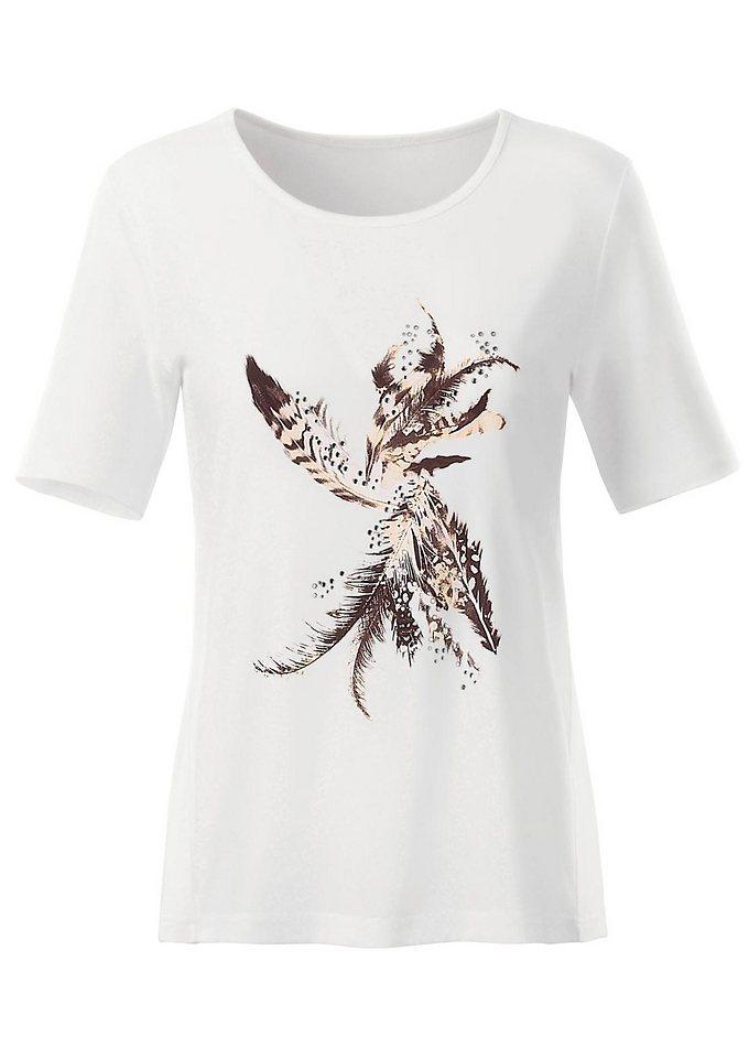 Classic Inspirationen Shirt in ecru-bedruckt