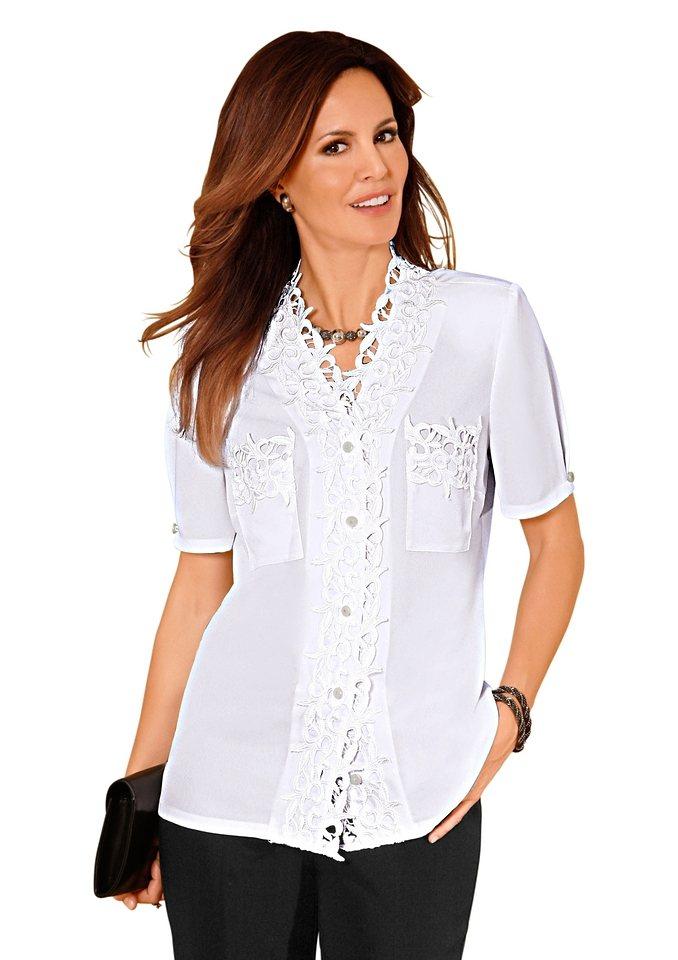 Lady Bluse in weiß