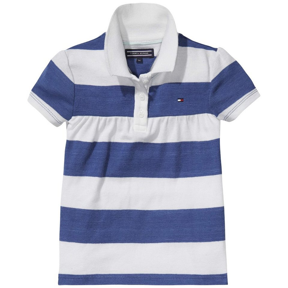 Tommy Hilfiger S/S Polos »BLOSSOM STRIPE MINI POLO S/S« in TRUE Navy