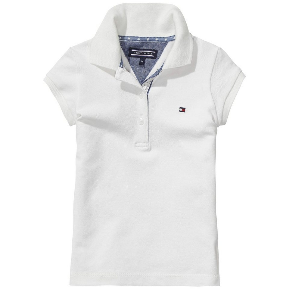 Tommy Hilfiger S/S Polos »TOMMY MINI POLO S/S« in white
