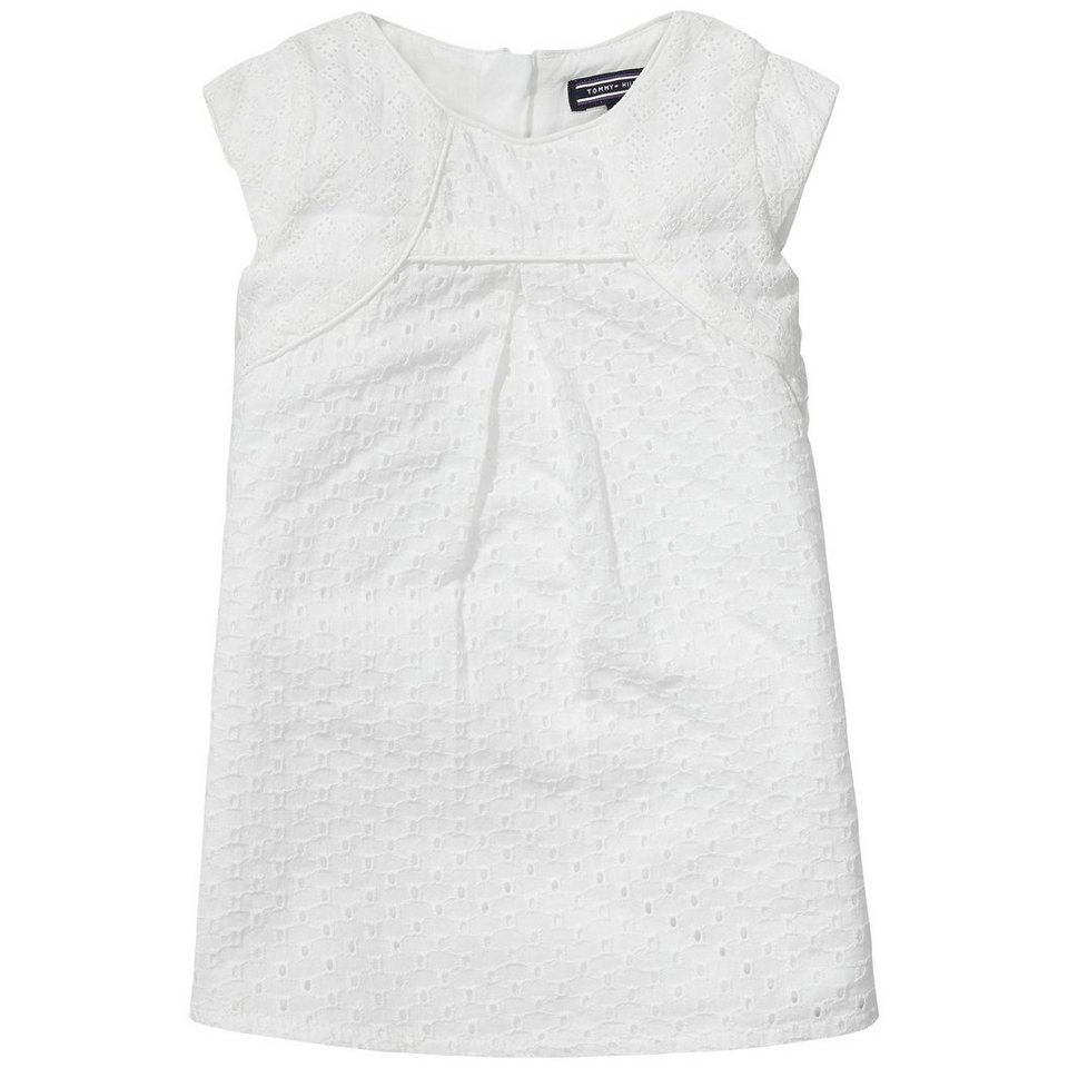 Tommy Hilfiger Dresses »FLORENCE MINI DRESS S/S« in white