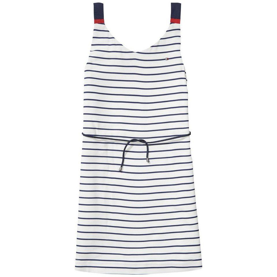 Tommy Hilfiger Dresses »DG BASIC A LINE DRESS SLVLS« in Egret