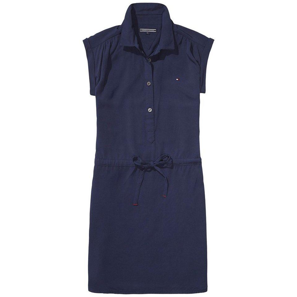 Tommy Hilfiger Dresses »DG BASIC SHIRT DRESS S/S« in Black Iris