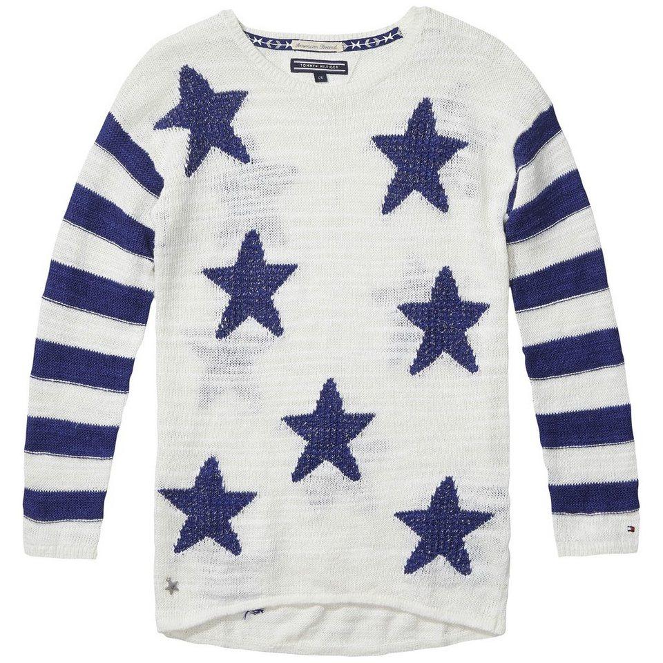 Tommy Hilfiger Pullovers »DG NILLA CN SWEATER L/S« in Egret