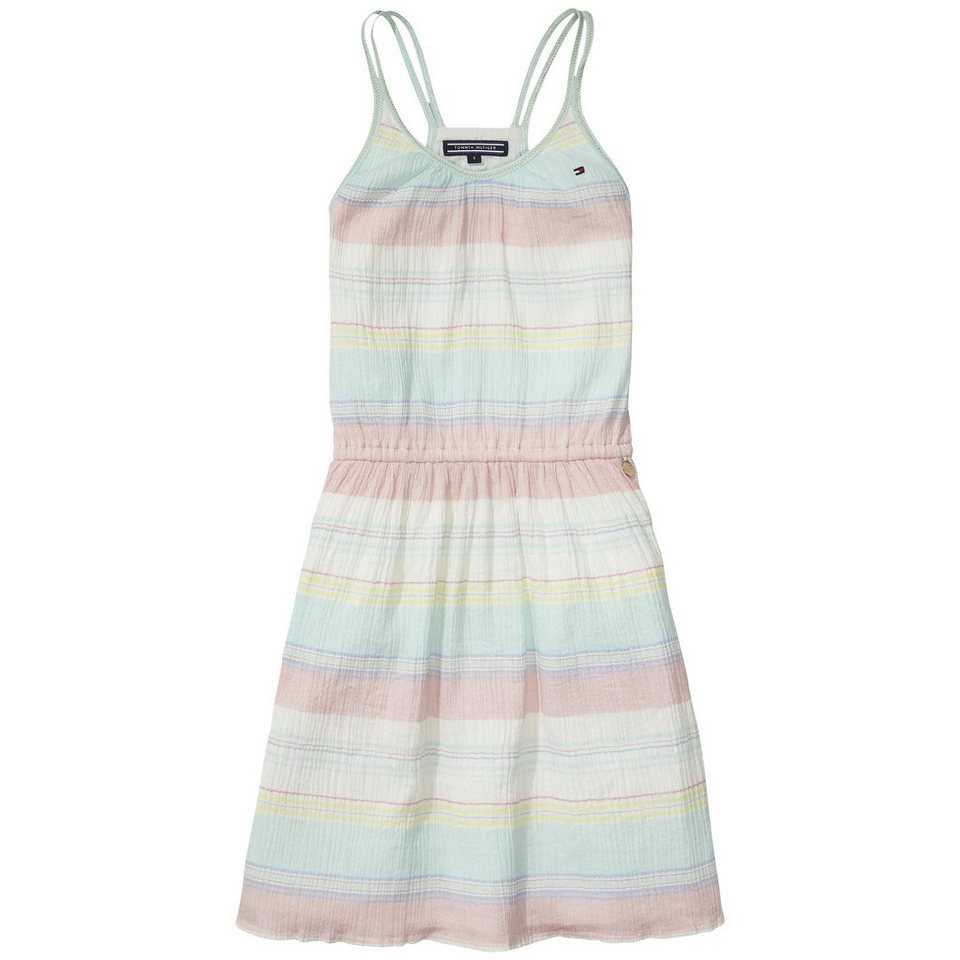 Tommy Hilfiger Dresses »COLINA STRIPE DRESS SLVLS« in Ocean Wave